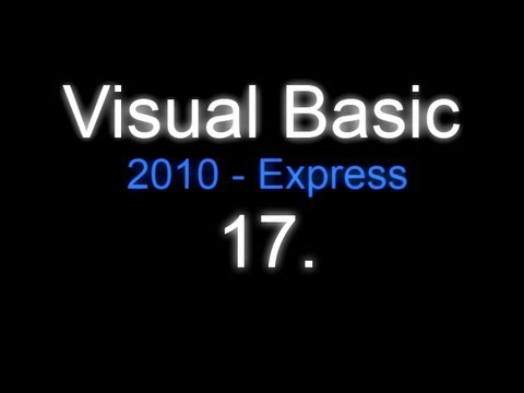 Visual Basic 2010 - $17$ CZTutorial - Opacity Form (Průhlednost) - by Creshex ;-)